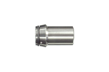 Stainless Welding nipples - 28X2.5 - DIN 3861 - With O-ring Sealing - NBR - Matching Type 24°-Inside Tapers - Light type