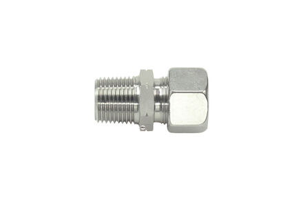Stainless Cutting Ring Tube Coupling 24° - NPT Male Stud Couplings - Extra Light type product photo
