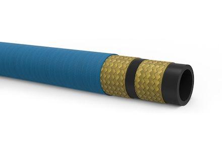 EQUATOR/2 (BLUE) Mylar marking - Hydraulic Hose 2 Wire Braid 2SN - Manuli Hydraulics product photo