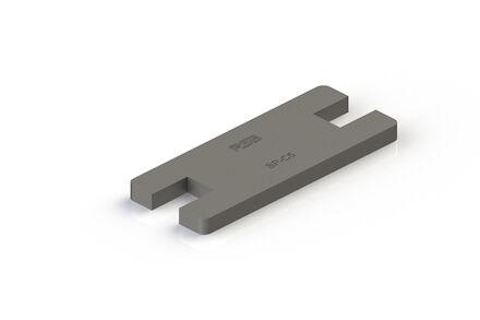 Steel Tube Clamps Mounting Hardware Locking plate DIN 3015-2 (SP) photo du produit