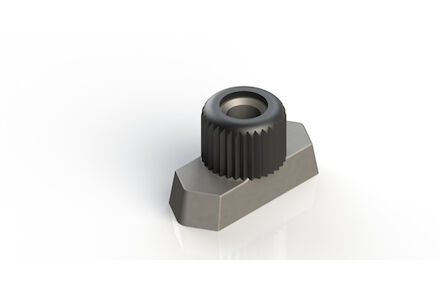 Steel Tube Clamps Mounting Hardware Rail nut DIN 3015 (TM) product photo