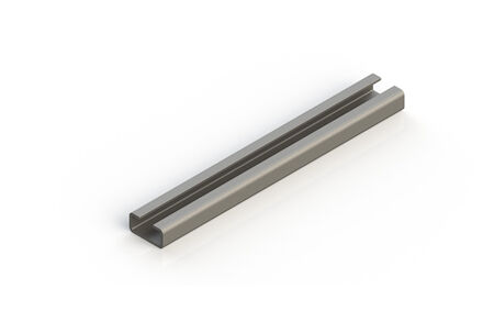 Staal Leidingbeugels-bevestigingsmateriaal Rail DIN 3015 product photo