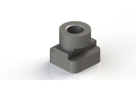 Steel Tube Clamps Mounting Hardware Rail nut DIN 3015-2 (TM) photo du produit