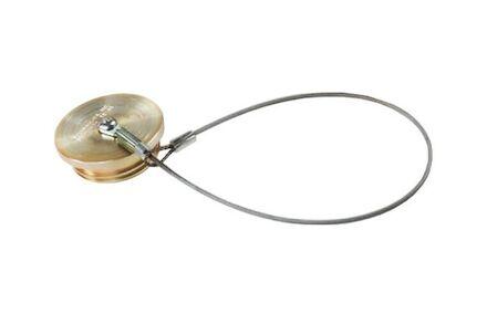 "Metalen stofplug - 1"" product photo"
