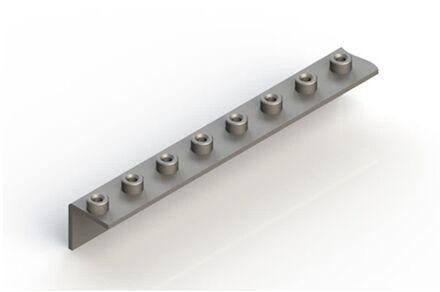 Lasplaat meervoudig gezet 90° Gelaste uitvoering - Serie Licht product photo