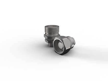 Hydraulic Quick Coupling - MQS-VS - Agricultural Valve - Male part - Metric Bulkhead product photo