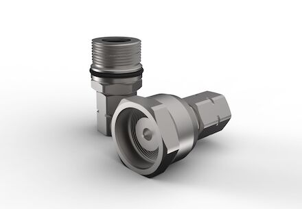 Hydraulic Quick Coupling - MQS-SGR - Screw type Heavy Duty - Male part - Metric Male product photo