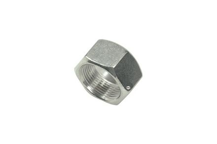 Stainless Nuts for Cutting Ring Connections - Tube size 42 - DIN 3870 + DIN EN ISO 8434-1 - Light type product photo