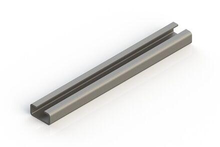 Staal Leidingbeugels-bevestigingsmateriaal Rail DIN 3015 product photo