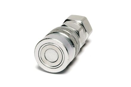 Hydraulic Quick Coupling - MQS-F - Flat Face - Female part - BSP Female - Stainless Steel product photo