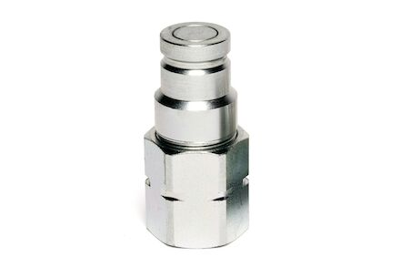 Hydraulic Quick Coupling - MQS-F - Flat Face - Male part - BSP Female - Stainless Steel product photo