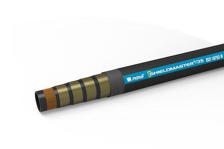 SHIELDMASTER/6000 - Hydrauliekslang 2 Gevlochten Staalinlagen + 4 en 6 spiraalinlagen - Manuli Hydraulics product photo