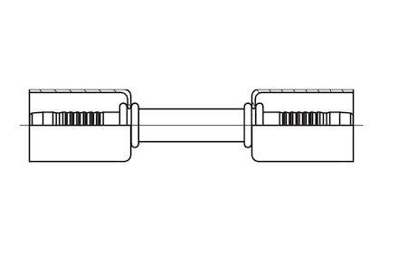 Refrigeration Hose Fitting - CONNECTION FITTING photo du produit