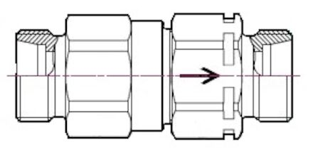 MQS-CV - Standard Series Check Valves photo du produit