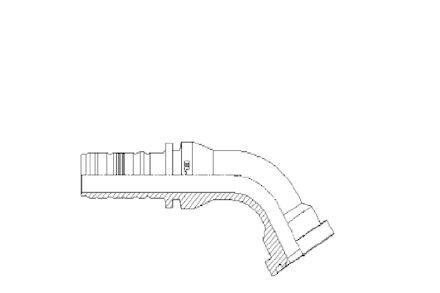 60° ISO/SAE Code 62 Flange product photo