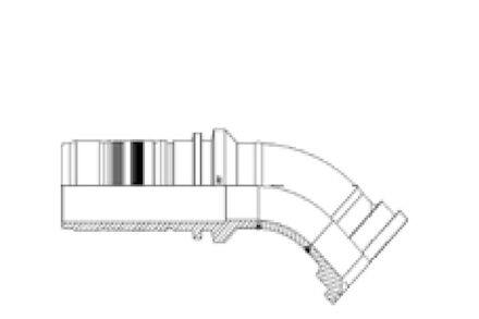 45° ISO/SAE Code 61 Flange product photo