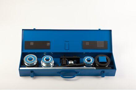 Pijpenbuiger handmatig - 6-22 mm in metalen box product photo