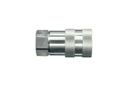 Hydraulic Quick Coupling - FLAT FACE - BSP FEMALE - Stainless Steel product photo