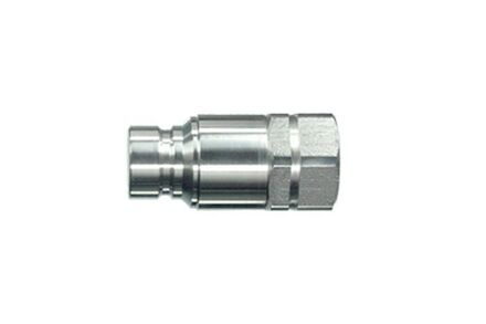 Hydraulic Quick Coupling - FLAT FACE - BSP MALE - Stainless Steel product photo