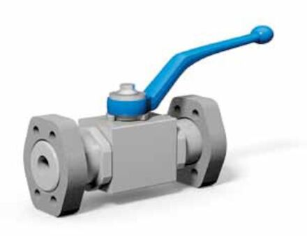 2-Way Ball valve with SAE adapter metric / UNC product photo