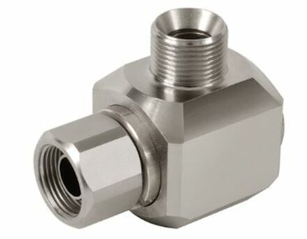 Swivel coupling Male BSP - Female BSP (nickle plated) product photo