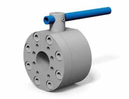 2-Way Flange ball valve with SAE connection metric / UNC product photo