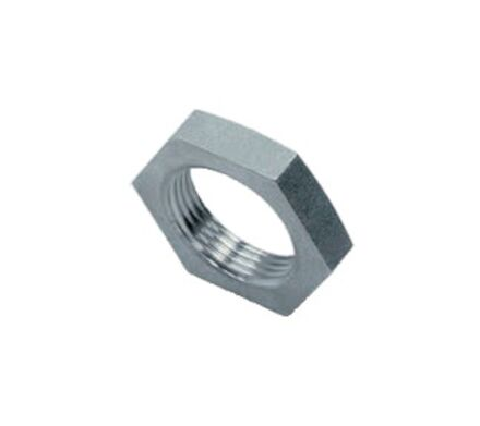 "Stainless Lock nuts for bulkhead couplings BSP 1"" photo du produit"