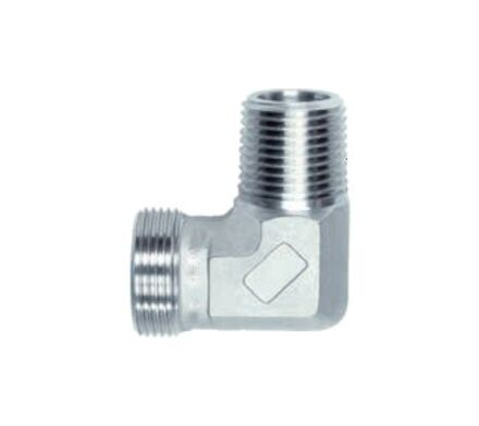 Stainless Elbow Adaptors BSP Male with 60°-Cone -BSPT Male product photo