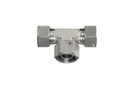 Snijringverbinding 24° RVS - instelbare T-koppeling - DKO - serie Licht product photo