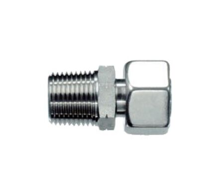 Stainless Tube coupling - Stud Standpipe Connectors Pre-Assembled - Thread: NPT product photo