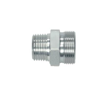 Stainless Cutting Ring Tube Coupling 24° - BSP Male Stud Couplings - Taper - Extra Light type product photo