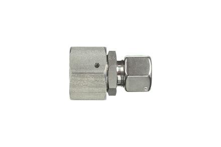 Snijringverbinding 24° RVS - DIN 3861 - reduceerkoppeling - DKOL - serie Licht product photo