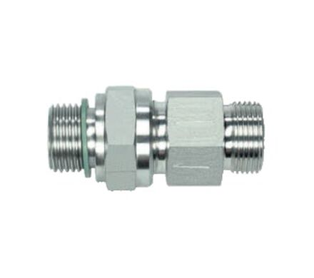 Stainless Tube Coupling - Non-Return Valve - 24 degree Heavy type - BSP parallel with Peflex product photo