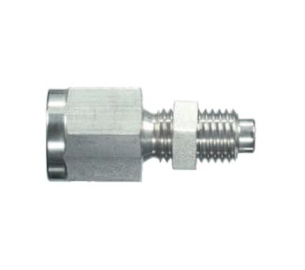 Gauge Test Adaptors - Stainless Steel - Female Thread: BSP - Male M 16 x 2 photo du produit