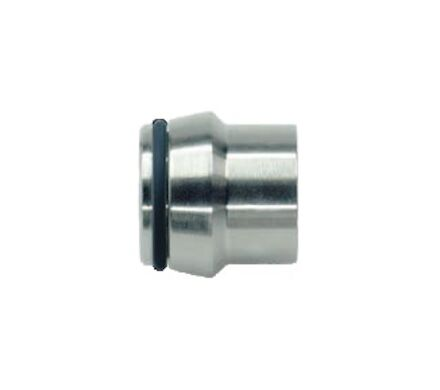 """Stainless Coupling Plugs for Port End W - """"10"""" - DIN 3861 - With O-ring NBR - Without Nut - Heavy type photo du produit"""