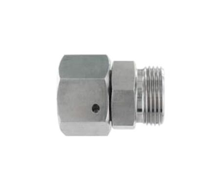 Stainless tube coupling - Distance Adaptor -With Taper and O-ring - Viton (DKO) - Light series product photo