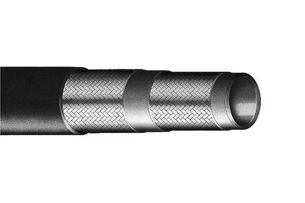 Projet (czarny) - wąż do mycia wodą - 2 oploty plecione - Manuli Hydraulics product photo