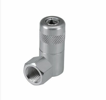 Angle hydraulic coupler photo du produit