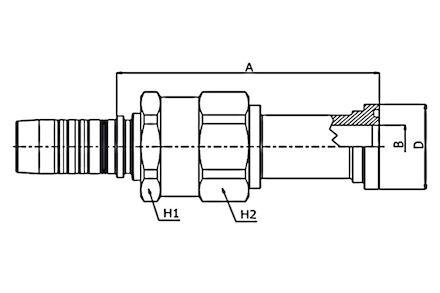 ISO/SAE CODE 61 FLANGE - SAE J516 / ISO 12151-3 product photo