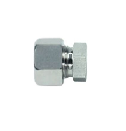 Stainless Blanking Plug - 24 degrees DIN Heavy type product photo