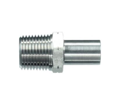 Stainless Stud Standpipe Connector NPT - Unassembled product photo