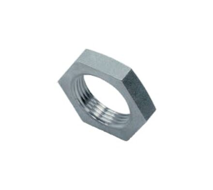 Stainless Locknut for Bulkhead Couplings BSP - Parallel photo du produit