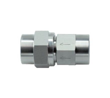 Stainless Non-Retrun Valves BSP - 0.5 Bar opening pressure product photo