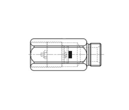 Safety valve BSP Male-Female photo du produit