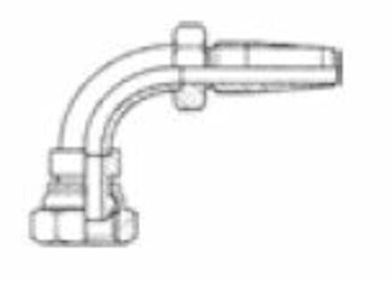 Reusable Insert R1-R2 elbow 90° female BSPP photo du produit
