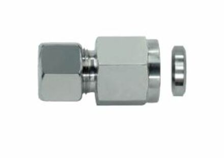 MV - GAUGE Couplings with Metal Sealing Ring - DKRi Internal Thread: BSP - Female - Parallel with silver coated nut product photo