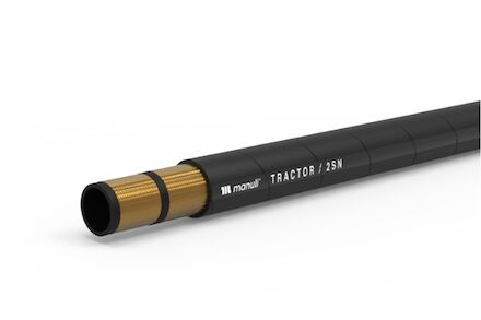 TRACTOR 2SN - Hydrauliekslang 2 Gevlochten Staalinlagen Manuli Hydraulics product photo