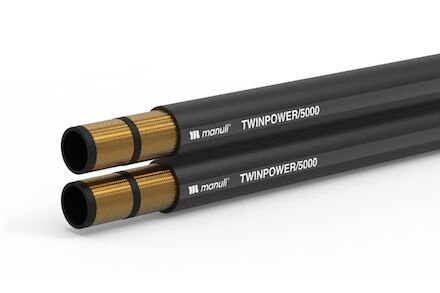 TWINPOWER/5000 - Hydrauliekslang 2 Gevlochten Staalinlage - Manuli Hydraulics product photo