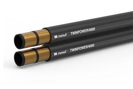 TWINPOWER/4000 - Hydrauliekslang 2 Gevlochten Staalinlage - Manuli Hydraulics product photo