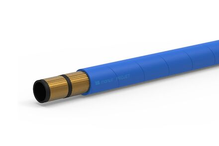 PRO-JET BLUE - Water Cleaning Hose 2 Wire Braid - Manuli Hydraulics product photo
